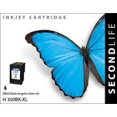 SecondLife SecondLife inktcartridge voor HP 300XL zwart CC641EE