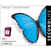 SecondLife SecondLife inktcartridge voor HP300XL kleur
