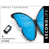 SecondLife SecondLife inktcartridge voor HP 350 XL zwart CB336EE