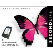 SecondLife SecondLife inktcartridge voor Canon 512 XL zwart