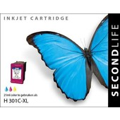 SecondLife SecondLife inktcartridge voor HP 301 XL kleur