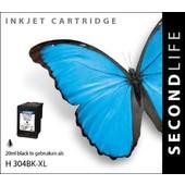 SecondLife SecondLife inktcartridge voor HP 304XL zwart