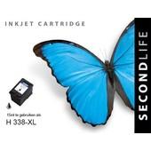 SecondLife SecondLIfe inktcartridge voor HP 338XL zwart C8765E