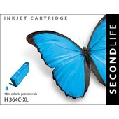 SecondLife Secondlife inktcartridge voor HP 364XL blauw