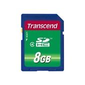 Transcend Transcend SD kaart / flashgeheugen: 8GB SDHC