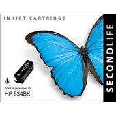 SecondLife SecondLife inktcartridge voor HP 934 XL zwart