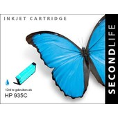 SecondLife SecondLife inktcartridge voor HP 935XL blauw