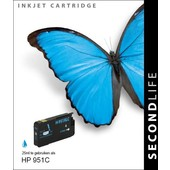 SecondLife SecondLife inktcartridge voor HP 951C XL Blauw