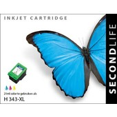 SecondLife Secondlife inktcartridge  voor HP 343 XL kleur