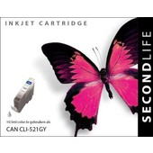 SecondLife SecondLife inktcartridge voor Canon  CLI-521GY grijs