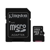Kingston Kingston MicroSD kaart / flash memory: 128GB MicroSDXC