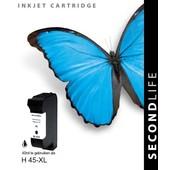 SecondLife SecondLife inktcartridge voor HP45 XL zwart