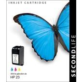 SecondLife SecondLife inktcartridge voor HP 23XL kleur