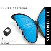 SecondLife SecondLife inktcartridge  voor HP 56 XL zwart