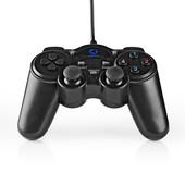 Nedis Gaming gamepad USB force feedback GGPD100BK
