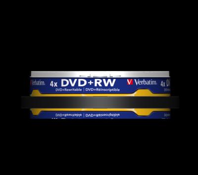 Verbatim DVD+RW 4,7GB / 120min spindle 10 st.