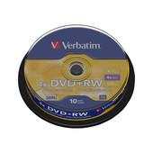 Verbatim Verbatim DVD+RW 4,7GB / 120min spindle 10 st.