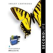 SecondLife SecondLife inktcartridge voor Brother blauw LC3213