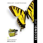 SecondLife SecondLife inktcartridge voor Brother geel LC3213