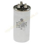 Universeel Universele condensator 35+1.5ΜF 450V