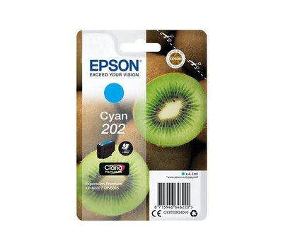 Originele Epson inktcartridge 202 blauw C13T02F24010