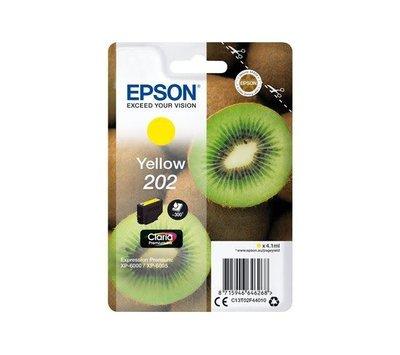 Originele Epson inktcartridge 202 geel C13T02F44010