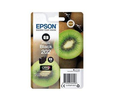 Originele Epson inktcartridge 202 foto zwart C13T02F14010