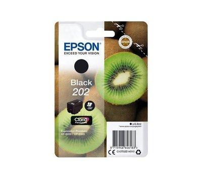 Originele Epson inktcartridge 202 zwart C13T02E14010