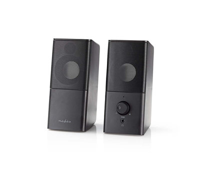 Nedis Gaming speakerset 6W RMS GSPR10020BK