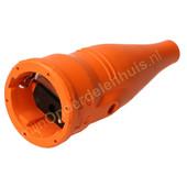 ABL ABL contrastekker met randaarde rubber 1479-070 oranje