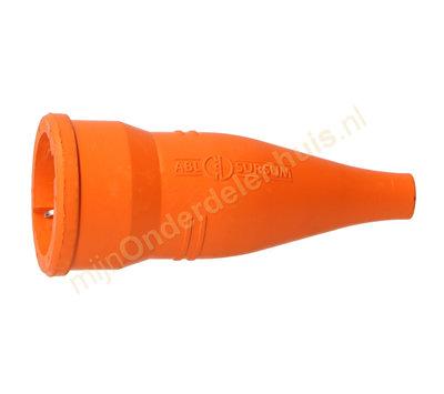 ABL contrastekker met randaarde rubber 1479-070 oranje