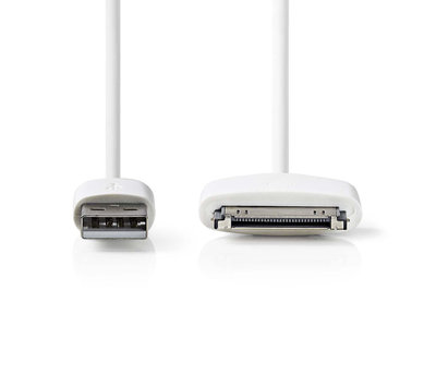 Apple dock laad-/datakabel iPhone 2m 30-pins CCGP39100WT20