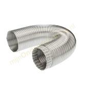 Wpro Universele aluminium slang voor afzuigkap 125mm 1.5m 481281729094