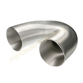 Universeel Universele aluminium slang voor afzuigkap 152mm 1.5m