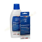 Bosch/Siemens Bosch ontkalker en reiniger voor koffiemachine 00311813
