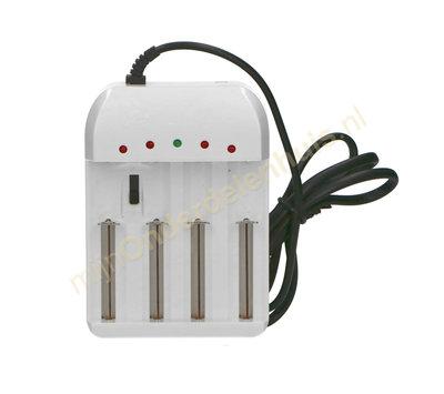 Universele batterijlader voor 1.2V/1.5V/3.6V/4.2V HG1412W