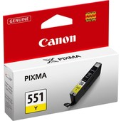 Canon Originele Canon inktcartridge CLI-551XL geel 6446B001