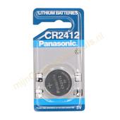 Panasonic Panasonic knoopcel CR2412 3v lithium