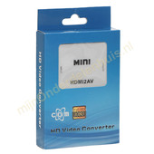 COM COM HDMI naar analoge audio/video converter HDMI2AV
