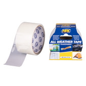 HPX HPX all weather tape transparant 48mm x 5m
