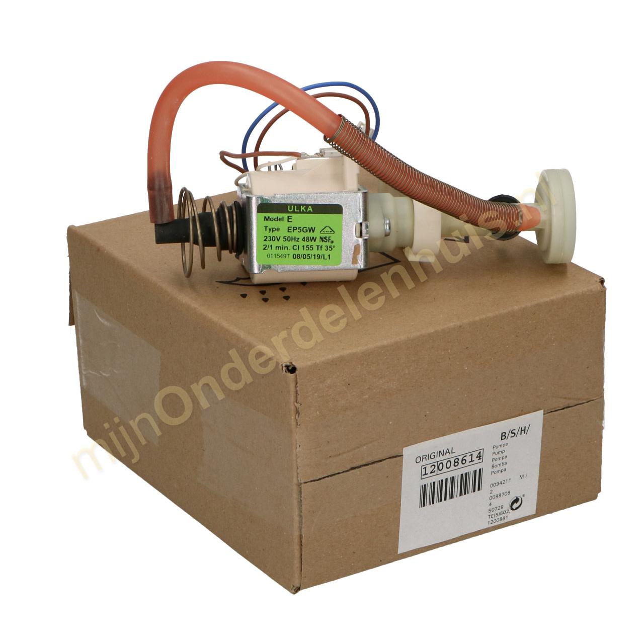 Siemens Neff POMPA ULKA ep5gw 230 Volt 12008614 Bosch OT