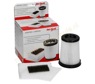Dirt Devil filter-set van stofzuiger 2828001