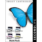 SecondLife SecondLife inktcartridge voor HP 932 XL + 933XL multipack