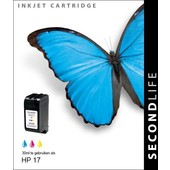 SecondLife SecondLife inktcartridge voor HP 17 XL kleur