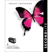 SecondLife SecondLife inktcartridge Canon 1500XL zwart