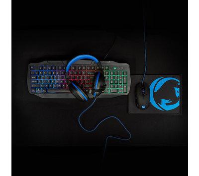 Gaming combo kit 4 in 1 GCK41100BKUS