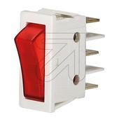 InterBär Universele wipschakelaar met controlelampje 3652-807.22 wit