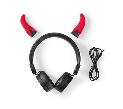 Nedis bedrade hoofdtelefoon HPWD4000BK