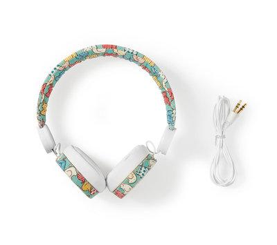 Nedis bedrade hoofdtelefoon HPWD4100WT