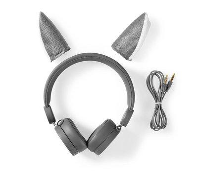 Nedis bedrade hoofdtelefoon HPWD4000GY